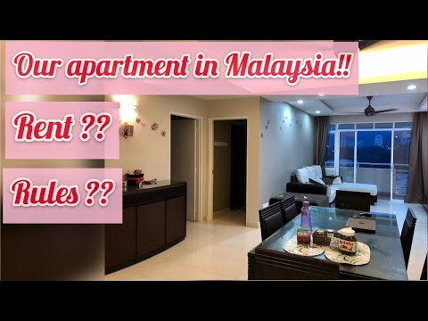 Home Tour in Malaysia | prices of flats for rent in Penang , Malaysia