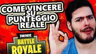 HOW TO WIN ON REAL SCORE! - New Mode - Fortnite: Battle Royale ITA