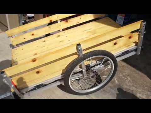WIKE DIY Cargo Trailer Side Rails