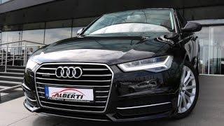 Audi A6 3.0 TDI QUATTRO 2017 (272hp), start up review in depth exterior interior