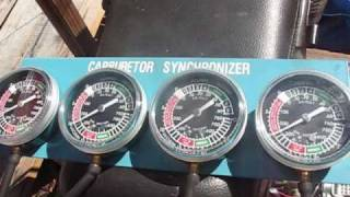 how to sync carbs on a motorcycle