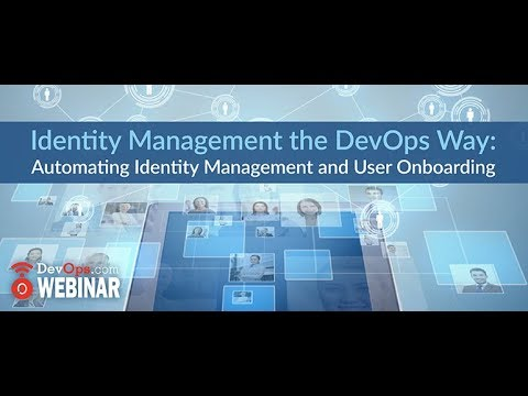 Identity Management the DevOps Way