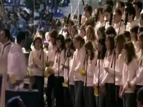 Coro Giovanni Paolo II - La mia anima canta - Festa dei Giovani - 8 marzo 2009 - Jesolo