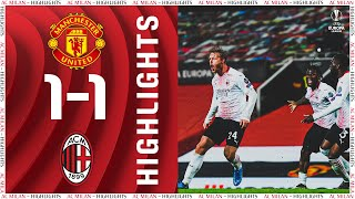 Highlights | Manchester United 1-1 AC Milan | Europa League Round Of 16 - First Leg