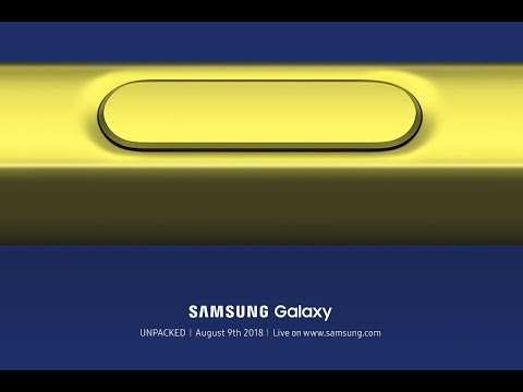 Samsung Unpacked August 2018 | Live Replay