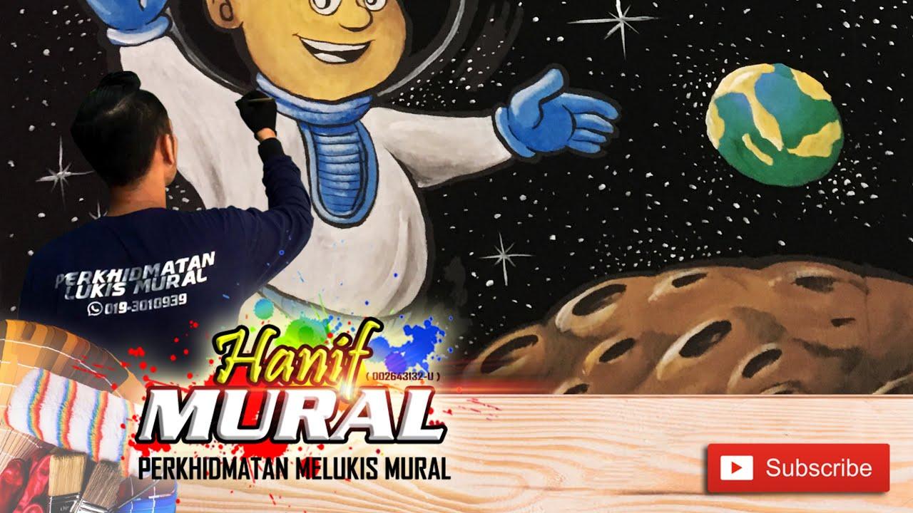 Lukisan Mural Tentang Planet Lusr Angkasa : •planet luar adalah planet yang berada diluar sabuk ...