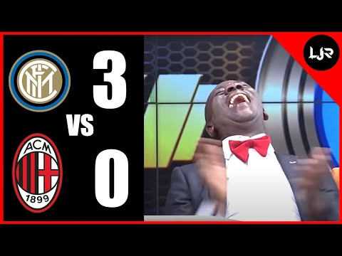 Akrobeto Reacts to Inter Milan VS AC Milan, Della Madonnina (21/02/21)