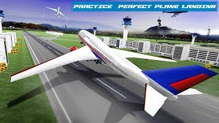 Real Plane Landing Simulator Android Gameplay