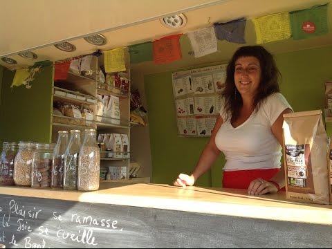 Maude Lejeune inaugure son épicerie itinérante Papillon & Coquelicot