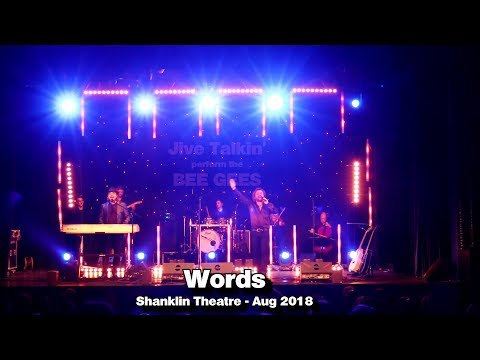 Words - Jive Talkin' Bee Gees Tribute Band - Live @ Shanklin - Aug 2018