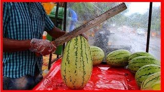 FRUIT NINJA Of FRUITS , Amazing Fruits Cutting Skills , Indian Street Food In 2019