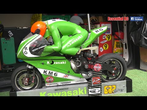 NITRO And ELECTRIC Radio Controlled (RC) MOTORCYCLE / BIKES Action