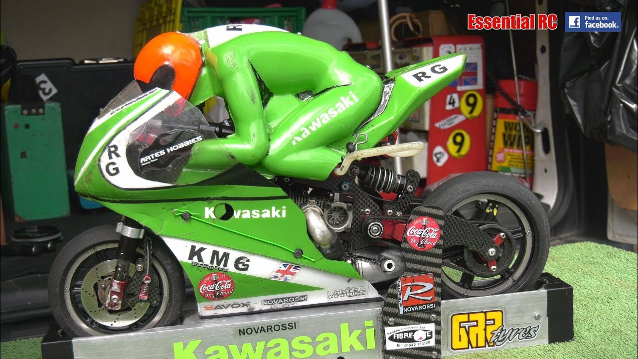 Nitro And Electric Radio Controlled Rc Motorcycle Bikes Action