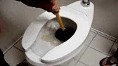 How to Unclog a Toilet - How to Free a Clogged Toilet - YouTube