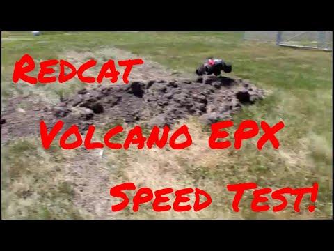 Redcat Racing Volcano EPX Top Speed Test