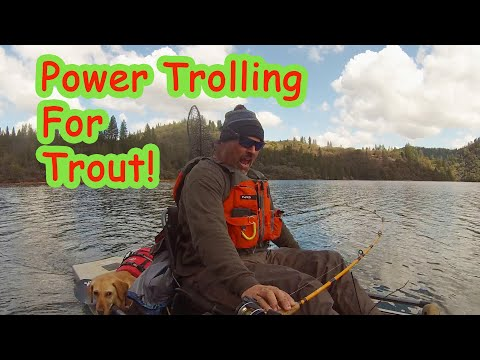 Power Trolling For Trout!