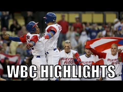 MLB | 2017 Team Puerto Rico WBC Highlights ᴴᴰ