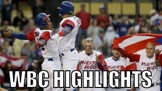 MLB | 2017 Team Puerto Rico WBC Highlights ᴴᴰ