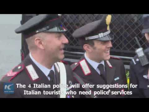 Italian policemen work in China? See Italian and Chinese policemen's joint patrol in Shanghai