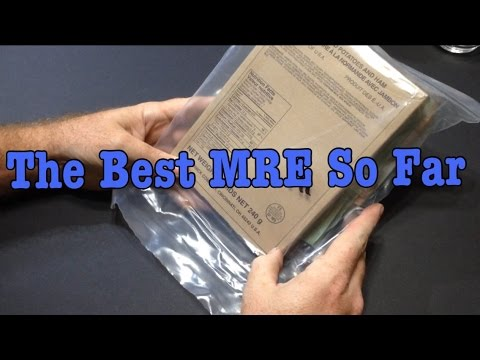 2013 Eversafe Civilian MRE Review Scalloped Potatoes With Ha
