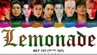 Nct 127 엔시티 127 Lemonade Track 4 Color Coded Han Rom Eng