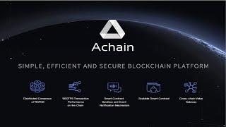 AChain - What is Next for AChain? (AChain Updates and Future Plans)