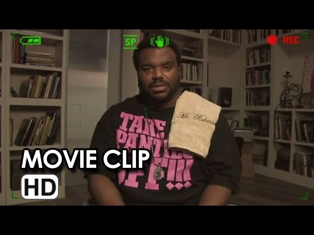 This is the End Movie Clip - Craig Robinson is Haunted (2013) Movie HD