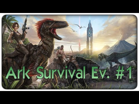 Ark Survival Evolved | L'isola dei dinosauri - ep. 01 - il survival coi dinosauri [ITA]