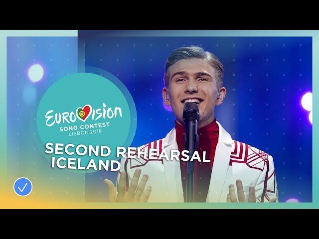 Ari Ólafsson - Our Choice - Exclusive Rehearsal Clip - Iceland - Eurovision 2018