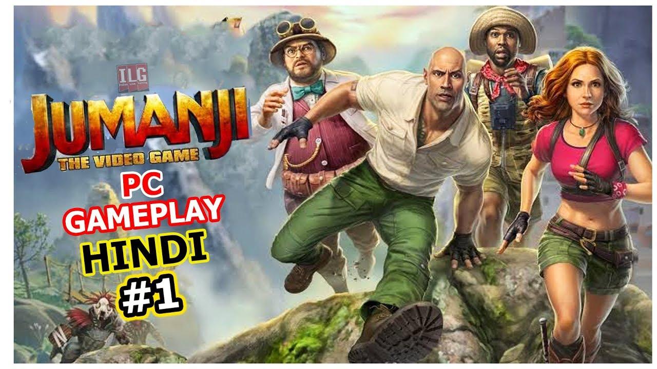 Download Jumanji The Video Game Hindi gameplay   Part 1