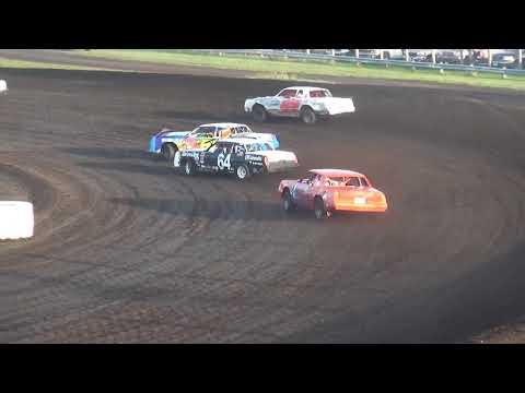 IMCA Hobby Stock Heats Benton County Speedway 9/17/17