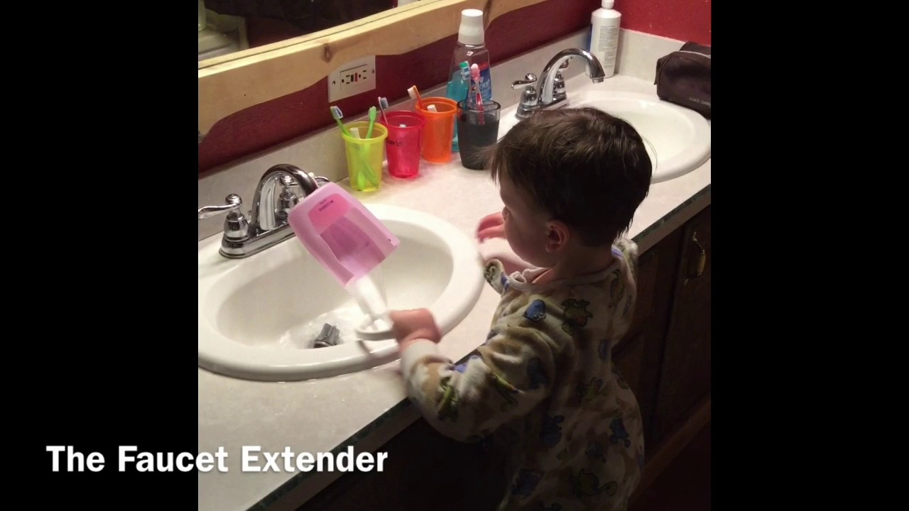 The Faucet Extender 2 - YouTube