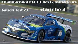 Gran Turismo Sport / Championnat FIA GT des Constructeurs / Saison Test 23 / Manche 4