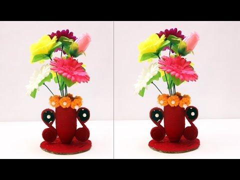 Easy art and Craft Ideas || DIY flowerpot || DIY ROOM DECOR