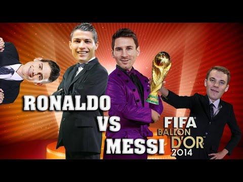 MESSI VS CRISTIANO RONALDO   - (english...