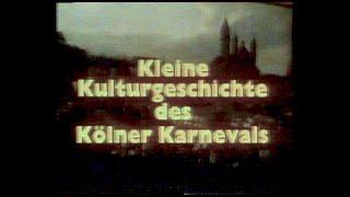 Alaaf und Ajuja    Kleine Geschichte des Kölner Karnevals - VHS von 1982