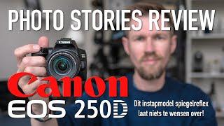Canon EOS 250D Review: een beginners camera die niets te wensen overlaat