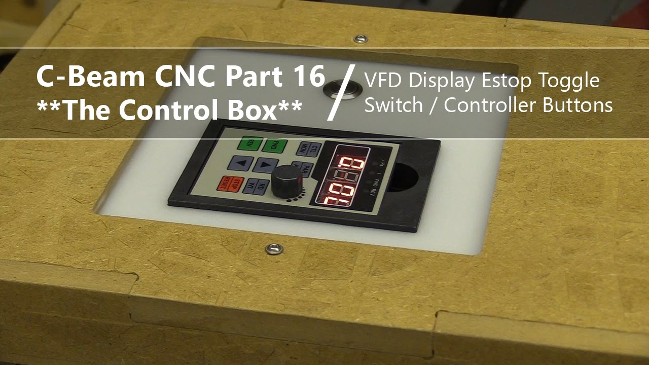 small resolution of  16 extending vfd display pwm toggle switch estop controller buttons 16 cnc control box