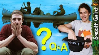 How did we get into Bushcraft?  -  Q&A, Epic Challenge & giveaway winners!