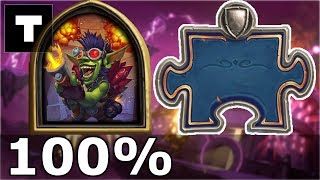 Hearthstone: The Puzzle Lab - Survival | Boommaster Flark 6/6 100%