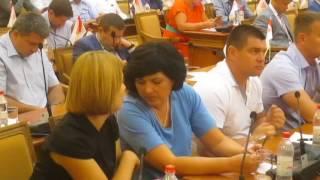 Депутаты спят во время речи Труханова