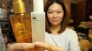 Hair Oil review and Brush