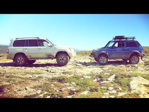 Lada Niva 4x4 And Toyota LC100 Light Offroad  /// Ladapower.com