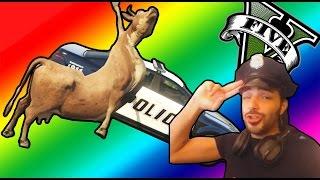 GTA V PC MODS - EL MEJOR POLICÍA DE TODOS LOS SANTOS - MOD Policia - NexxuzHD