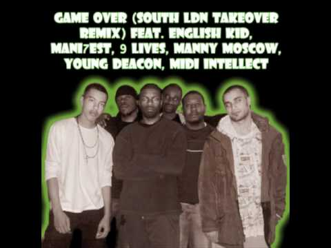 GAME OVER REMIX - SOUTH LDN TAKEOVER