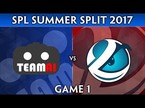 SMITE Pro League Summer Split 2017 (NA) - Team AI vs. Luminosity (Game 1)
