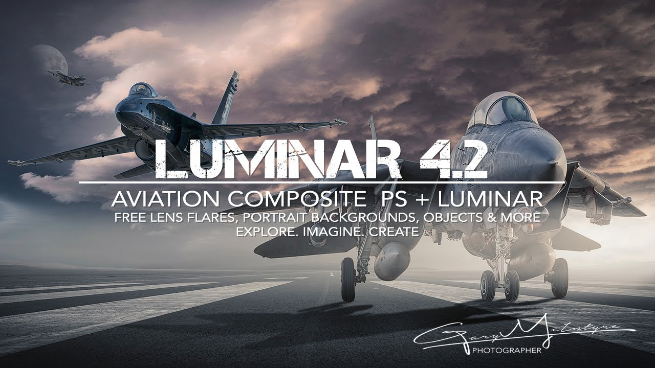 Aviation Composite plus free objects, backgrounds and more