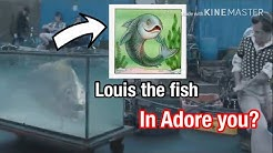 Louis the fish in Adore you? Music video and lyric analysis