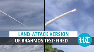 Watch: India successfully test-fires land-attack version of BrahMos missile