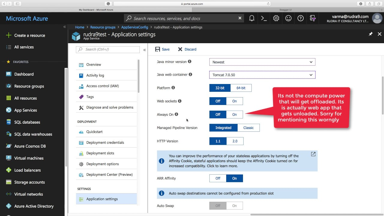Lab demo - Azure App configuration using Azure Portal